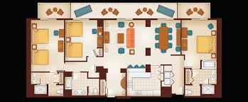 villa floor plans floor plan of a 1 bedroom villa