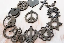 coexist peace ornaments gifts for women gifts for men