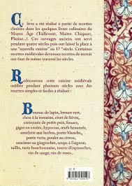 ag e de cuisine amazon fr recettes médiévales 125 recettes de cuisine du moyen