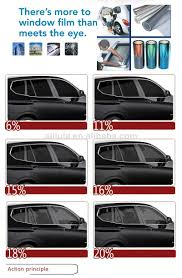 Static Cling Window Tint Heat Resistant Removable Solar Window Film Pvc Reuse Static Cling