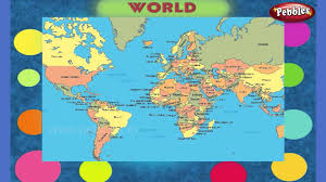 Countries Of The World Map by Countries World Pre Basics For Kids Basic English