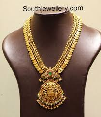 lakshmi kasu mala indian jewellery designs south