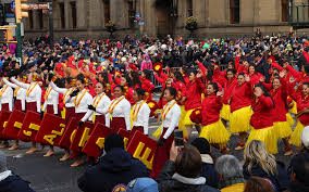 hawaii all state band marches in macy s thanksgiving day parade