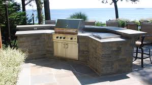 outdoor bbq u0026 fireplaces gray masonry