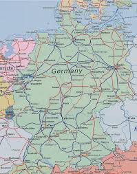 6 Train Map Download Rail Map Of Germany Major Tourist Attractions Maps