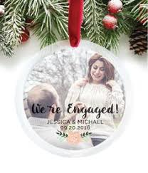 we re engaged ornament decorations