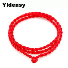 simple rope bracelet images Yidensy 5 pcs lot fashion simple red black rope bracelets long jpg