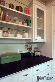 vintage kitchen collectibles living vintage kitchen reveal open shelving jars recipe