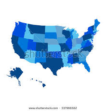 us map w alaska alaska map stock images royalty free images vectors