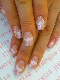 beautiful cherry blossom or sakura flower nails by erikonail