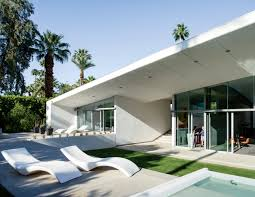 Home Decor Stores In Florida An Energy Efficient Hybrid Prefab Keeps Cool In The Palm Springs