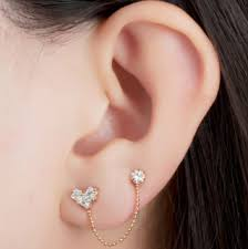 seconds earrings second ear piercing does it hurt healing time cost left or
