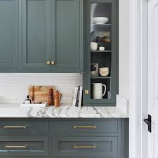 green color kitchen cabinets this green hue will be a kitchen color trend in 2020