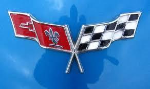 c3 corvette flags a visual history of corvette logos part 2 core77