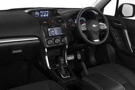 white subaru forester interior official refreshed 2017 subaru forester images and details leaked