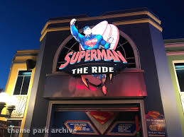 Six Flags Height Superman The Ride At Six Flags New England Theme Park Archive