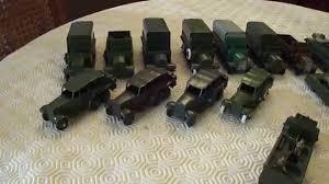 tonka army jeep military dinky toys 3 austin champ 674 army jeep youtube