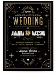 deco wedding invitations deco wedding invitation suites minted