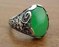 gem silver rings images 30 stylish men 39 s gemstone rings that are unique awesome stuff 365 jpg