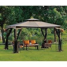 Mosquito Netting Patio Amazon Com 10 X 12 Regency Ii Patio Gazebo With Mosquito Netting