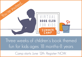 toddler approved virtual book club for kids summer camp 2017