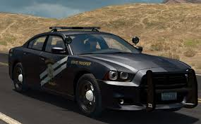 Dodge Challenger Police Car - 2012 dodge charger police cruiser ats euro truck simulator 2 mods