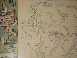 The Shire Map Eriador And The Shire Detail From Middle Earth Map By Barb U2026 Flickr
