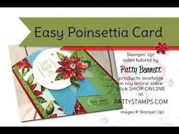256 best cards christmas poinsettia images on pinterest