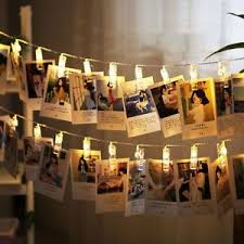 string lights with picture clips 10 leds hanging string lights with photo display clips for bedroom