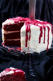 bloody red velvet cake spicy southern kitchen