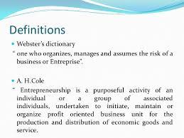 significance of entrepreneur in economic development