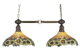 Wicker Light Fixture by 65826 Tiffany Wicker Sunflower Island Light