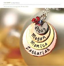 mothers day jewelry personalized s day gift for color personalized pendant
