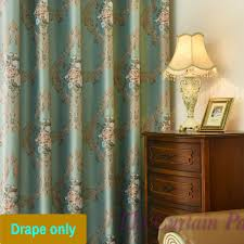 Blue Swag Valance Blockout Blue Bedroom Net Curtain Fabric Swag Valance Pelmet