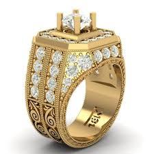 diamond men rings images 3d print model 63 luxury diamond men ring cgtrader jpg