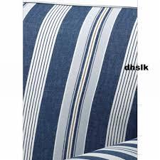 Ikea Ektorp Armchair Cover Ikea Ektorp Armchair Cover Chair Slipcover Abyn Blue White Stripes
