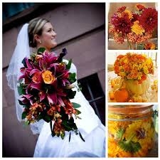 wedding flowers in october lanier islands weddings october wedding trends orange