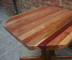 how to make a wooden table top to make a reclaimed tongue groove table top