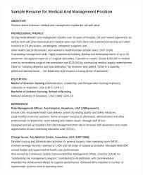 sample resume for er nurse medical management position nurse