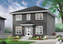 modern home floor plan house plan w3716 detail from drummondhouseplans