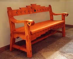 handmade sante fe style bench by dottei designs custommade com