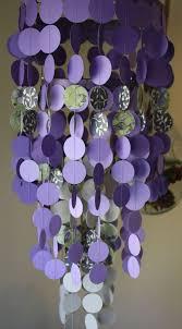 Party Chandelier Decoration by Best 25 Purple Party Decorations Ideas Only On Pinterest Purple