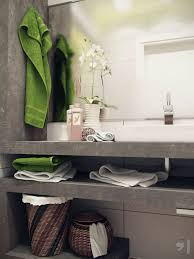 Small Bathroom Ideas Storage Bathroom Ceramic Tile Bathroom With Towel Rack And Framed Mirror