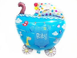 50 balloons delivered new arrivel baby boy car balloon for birthday party decorations kids