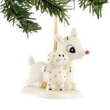 rudolph and clarice ornament rudolph the nosed reindeer