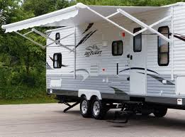 Trailer Awning Parts Caring For Your Rv Awning The Jayco Journal Rv Camping Blog