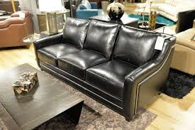 Omnia Leather Sofa Omnia Fifth Avenue Leather Showroom