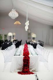 decoration mariage noir et blanc la déco de mariage en noir et blanc décryptée pour vous