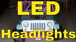 jeep wrangler light wiring led lights wiring on a power wheels disney frozen jeep wrangler