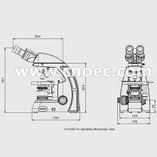 head compound optical microscope infinity plan microscopes a12 0907 b